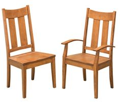 33% OFF Amish Furniture: Aspen Chair: Oak