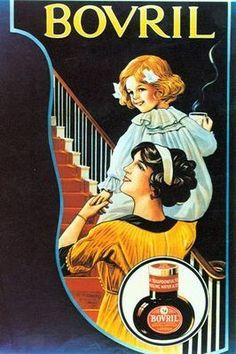 Minuta Old Tea advertising poster reproduction.