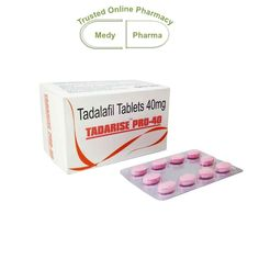 Buy Online Tadarise Pro 40mg  Tadarise Pro 40mg  Buy Tadarise Pro 40 is a medium power ED cures working on erectile buy tadarise prfailures in men. Erectile Dysfunction is a sexual disability caused due to various reasons. Men suffer from this trouble at-least once in their life. buy tadarise pro 40mg The inability to attain harder erection is the biggest challenge for men.