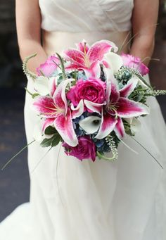 Patterned Petals: Unique Blooms for your Wedding Day