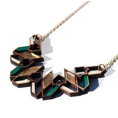 Aziza Green Necklace