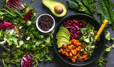 Vegetarian Poke Bowls With Pineapple Live Eat Learn. Fakin' Bacon: 9 Vegan Recipes That Tantalize Taste Buds PETA. Vegan Recipes Videos, Vegetarian Recipes Easy, Vegan Recipes Easy, Healthy Dinner Recipes, Diet Recipes, Vegetarian Diets, Salad Recipes, Healthy Foods To Eat, Healthy Snacks