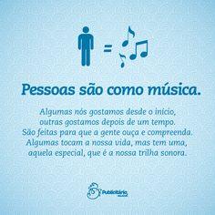 pessoas e musicas