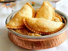 One of the populer Indian traditional sweet recipe Gujiya  Like our Page & Follow ! Lets post recipe at Amazerecipe.com.  1.Free Registration.  2.Bookmark & Create your own collection of recipes.  3.Cooking! , be a Chef post your recipe. We are here to get your identity.