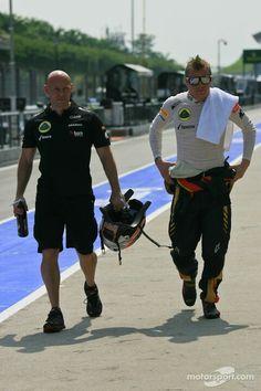 Kimi Raikkonen & Mark Arnall | Gp malaysia saterday 23-3-2013
