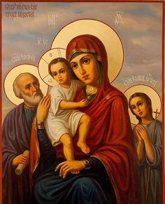 Чудотворна икона Мајке Божије ТРИ РАДОСТИ