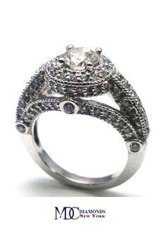 Legacy Style Diamond Engagement Ring