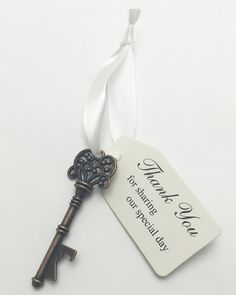 100pcs Antique key bottle opener wedding favor wedding gift