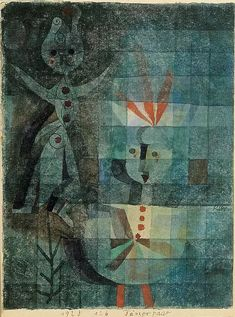 Paul Klee -'Two Dancers'