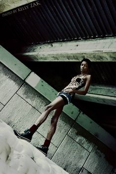 Industrial Fashion Location Shoot