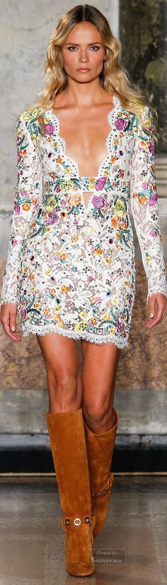 Emilio Pucci.Spring 2015. Let's add a touch of amethyst - http://earthwhorls.com/product-category/gems/amethyst/