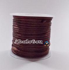 10 metros cola de raton 1,5mm grosor marrón chocolate