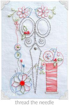 Elefantz embroidery design