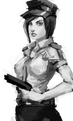 ☆ Police Woman :¦: By ~Tekkoontan ☆