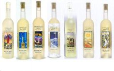 Moselland Series Wines -- Lighthouse, Landmark, other -- the picture shown does not do these bottles justice, they are absolutely beautiful.  Window bottles.  Riesling wines, very fruity.