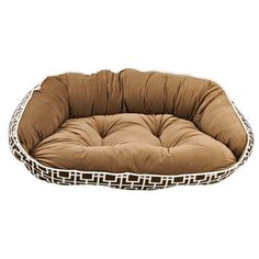Bowsers Diamond Series Microvelvet Crescent Dog Bed *** Learn more by visiting the image link. (Note:Amazon affiliate link) #DogBeds