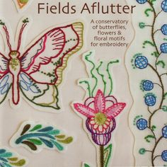 Anna Maria Horner Hand Embroidery Pattern - Fields Aflutter | $16