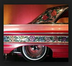Gypsy Rose Custom Paint Jobs, Custom Cars, Chicano, Ad Car, Gypsy Rose, Super Sport Cars, Pinstriping, Chevrolet Impala, Amazing Cars