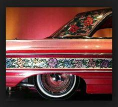 Gypsy Rose Custom Paint Jobs, Custom Cars, Chicano, Hell On Wheels, Ad Car, Gypsy Rose, Super Sport Cars, Pinstriping, Car Painting