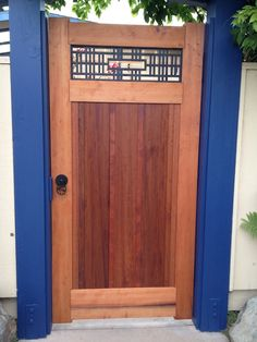 garden gates wood - Google Search