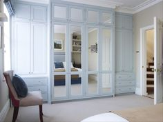 Fitted wardrobe - mirrored