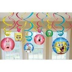 sponge bob party ideas.   click on picture