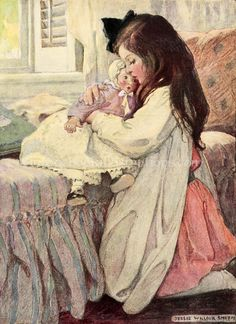 Jessie Willcox Smith The best vintage book illustrations lovingly curated at vintagebookillustrations.com