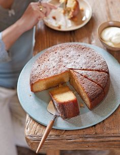 Try this quick and easy recipe for delicious spiced citrus syrup cake flavoured with oranges, lemons, green cardamom, coriander and ginger.