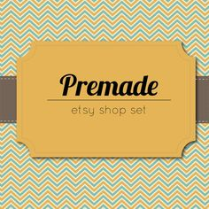 Hey, I found this really awesome Etsy listing at https://www.etsy.com/listing/177382448/premade-etsy-shop-set-etsy-banner-avatar
