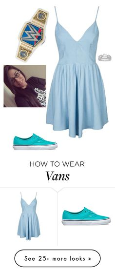 """""""Kenna - Ringside for The #1 Contendership Match"""" by lsd-and-halloweencandy on Polyvore featuring Topshop, Vans and Allurez"""