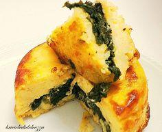 Tortino Patate e Friarielli. Conoscete i friarielli? Sono cime di rapa tenere particolari che si coltivano in Campania, che voglia dopo mesi di 'astinenza'!