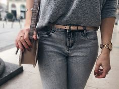total in grey with accessories