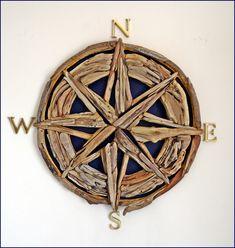 Driftwood compass ... 55 cm. www.instagram.com/driftwoodist