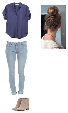 """""""Untitled #62"""" by mell-rosee ❤ liked on Polyvore featuring Xirena and Golden Goose"""