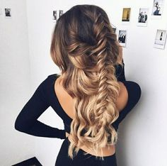 rubin-extensions.com | hair | beautiful hair | ombre color | rubin extensions | plaits | balayage |