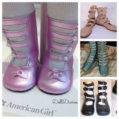 Samantha's High Strap Boots