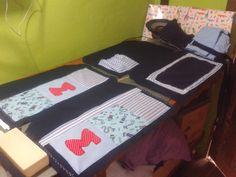 Fazendo bolsa para maternidade