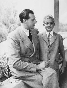 hrabia Barcelony don Juan i jego syn infant Juan Carlos