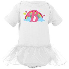 Inktastic Baby Girls' Monogram Letter B Rainbow Infant Tutu Bodysuit 12 Months White inktastic http://www.amazon.com/dp/B00SSZ0MJS/ref=cm_sw_r_pi_dp_oU-2ub0QFPKAD #homewiseshoppergifts