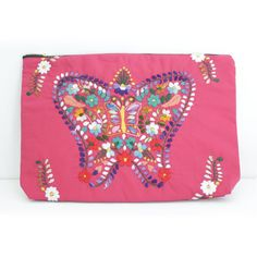 Michelle Over Sized Clutch featuring Otomi Embroidery