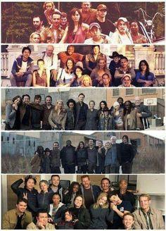 The gangs since season 1