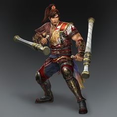 Sun Ce & Weapon (Wu Forces)