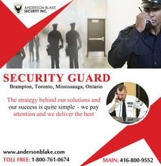 Anderson Blake provides best #security_guard in #Mississauga for your office or residential #security & #safety. #Security_Guard_in_Mississauga #Security_Guard_Services_Brampton #Security_Guard_in_Toronto for more information just call us: 416-800-9552
