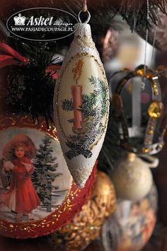 CHristmas decorations retro