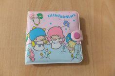 Vintage 1984 Little Twin Stars Vinyl Wallet