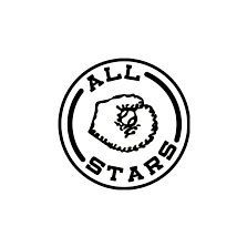 Mounted Baseball Rubber Stamp All Stars by CarolynsStampStore