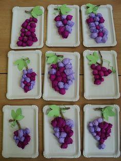 activites manuelles clsh - Page 11 - Basteln Kinder Kids Crafts, Projects For Kids, Diy For Kids, Diy And Crafts, Paper Crafts, Autumn Crafts, Autumn Art, Fruit Crafts, Fruit Of The Spirit