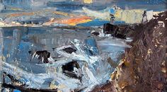 The two sides of painter Joan Eardley on The Spectator Abstract Landscape Painting, Landscape Drawings, Seascape Paintings, Landscape Art, Landscape Paintings, Art And Illustration, Tamara Lempicka, Francoise Gilot, Abstract Geometric Art