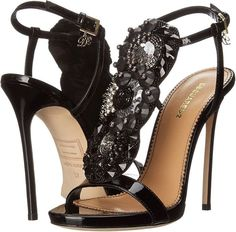 DSquared2-T-Strap-Embellished-Sandals