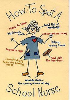Image result for example of school nurse website